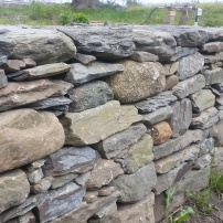 stone wall protection